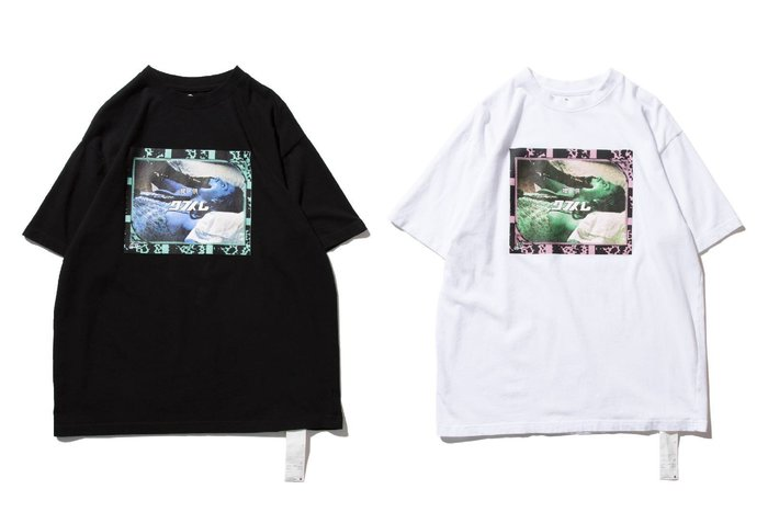 { POISON } DeMarcoLab COMMERCIAL TEE 拼貼激烈視覺圖像傳達