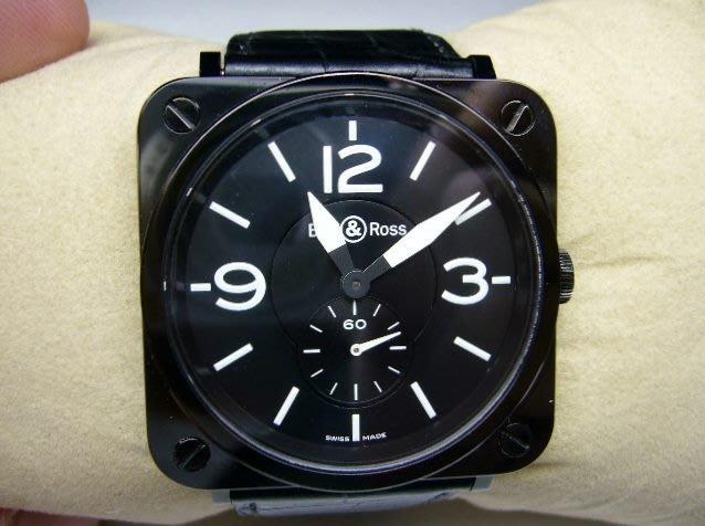 [吉宏精品交流中心]BELL&ROSS 柏萊士 陶瓷 石英 39mm 女錶