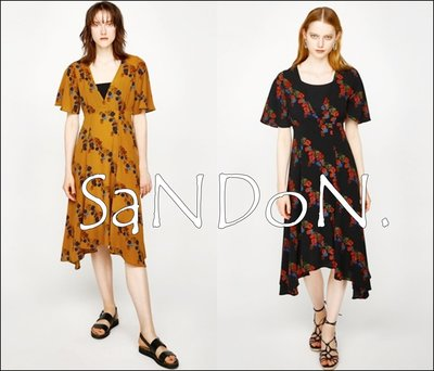 SaNDoN x『MOUSSY』夏季下折扣 紫藤花V領不規則裙襬洋裝 OP SLY SNIDEL 170714