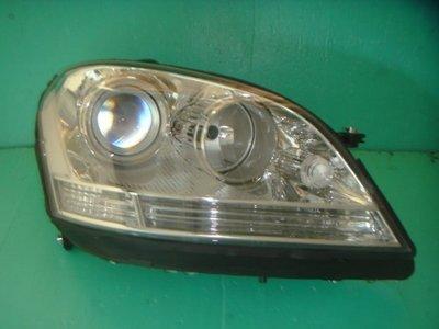 》傑暘國際車身部品《 全新 BENZ W164 ML350 原廠型晶鑽魚眼大燈一顆5000元DEPO製