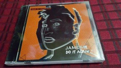R華語男(全新未拆CD)JAMES祝~DO IT AGAIN(勇)