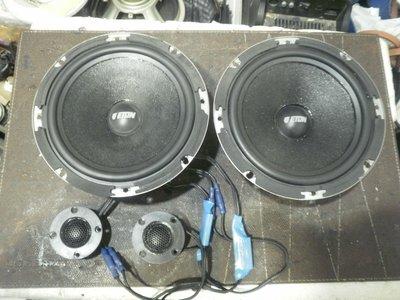 (老高音箱)全新購入 規格不合 半價出售 德國原裝 ETON PRO 170車用喇叭組