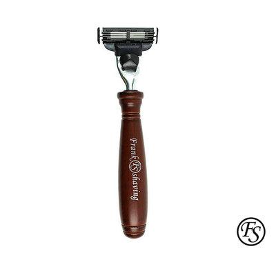 GOODFORIT / Frank Shaving Rosewood Mach3 Razor 山櫸木素材仿紫刮鬍刀