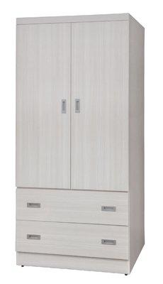 【南洋風休閒傢俱】精選時尚衣櫥 衣櫃 置物櫃 拉門櫃 造型櫃設計櫃- 3*6尺浮雕雪松衣櫥 CY185-368