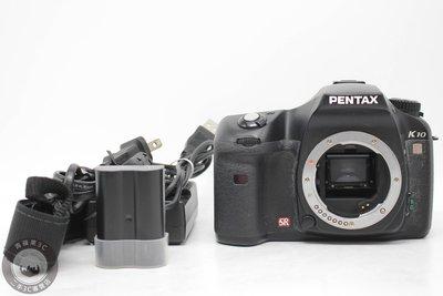 【高雄青蘋果3C】Pentax K10D 單機身1080 萬像素 二手單眼相機 #52575