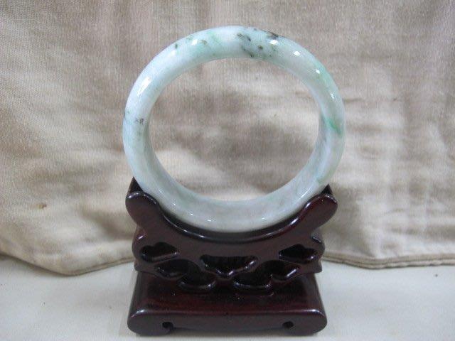 二手鋪 NO.4110 天然玉石 翡翠A貨 手環 玉環 玉鐲 手鐲 首飾飾品