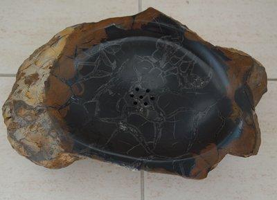 {小小筌} [低價起標] 龜甲石小茶盤