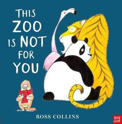 *小貝比的家*THIS ZOO IS NOT FOR YOU /平裝/3~6歲/幽默 Humor