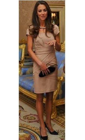 ☆°╮VS流行館╭°☆美國時尚品牌ONLY保證正品◎凱特王妃類似款修身剪裁洋裝小禮服200元(黑XS號/黑S號)
