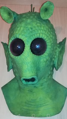 greedo life size mask for sideshow star wars