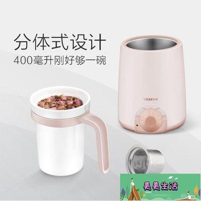 電熱養生杯辦公室煮粥電燉杯加熱迷你牛奶...