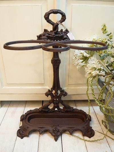 鑄鐵傘架--南法鄉村風LE GRAND CHEMIN古典鑄鐵仿古鐵製傘架--秘密花園