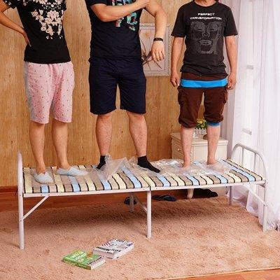 加固加厚折疊床單人床雙人床木板床1米1.2米1.5米床午休床行軍床