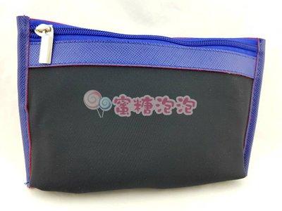◎蜜糖泡泡◎SHISEIDO 資生堂 黑藍時尚化妝包
