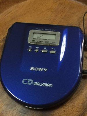 Sony CD MP3 隨身聽 (D-E707)