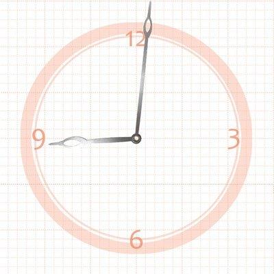 【鐘點站】J119077S 分針11.9 公分 時針7.7 公分/ DIY 時鐘 掛鐘 鐘針/ SKP壓針專用指針