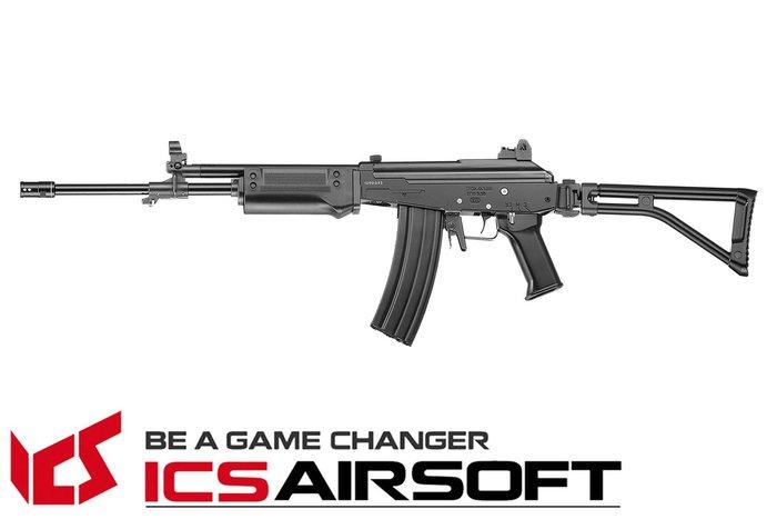 【翔準軍品AOG】ICS TOD AR (黑)折疊托 AK 電動槍 全金屬 生存遊戲 ICS-92