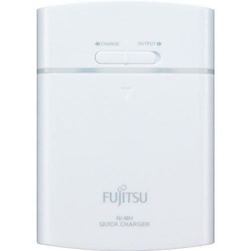 【101-3C數位館】Fujitsu 富士通 充電電池 FSC342FX-W 3號充電電池4入+充電器(白色)