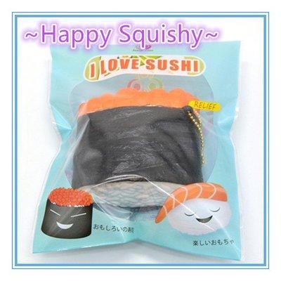 ~Happy Squishy~  超漂亮 最新款 魚子醬壽司君 Squishy /軟軟/減壓玩具(精美包裝)