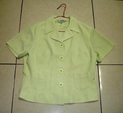 外套 NOA NOA 淡綠短薄外套-1