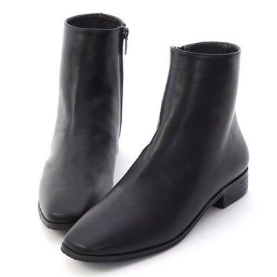 轉賣d+at極簡風短靴 黑37