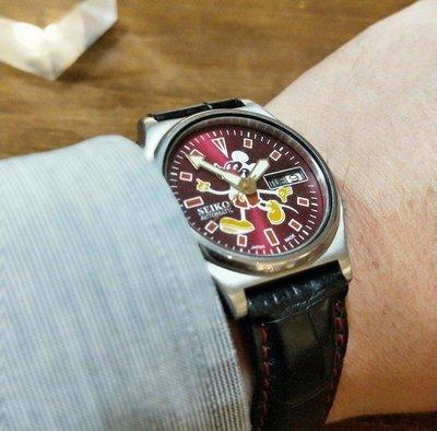 古董精工Seiko米奇Mickey全自動機械錶
