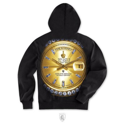 【 DOOBIEST 】OGABEL / Time is Money Hoodie