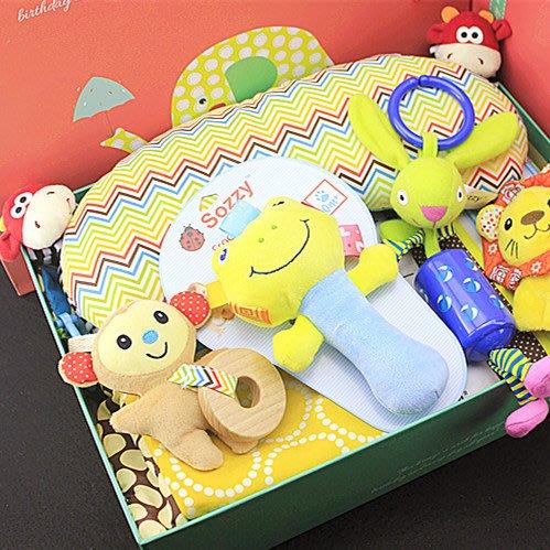 嬰兒用品大全寶寶套盒禮盒猴寶寶新生兒玩具禮盒秋冬游戲毯大禮包小王子小公主可愛套裝