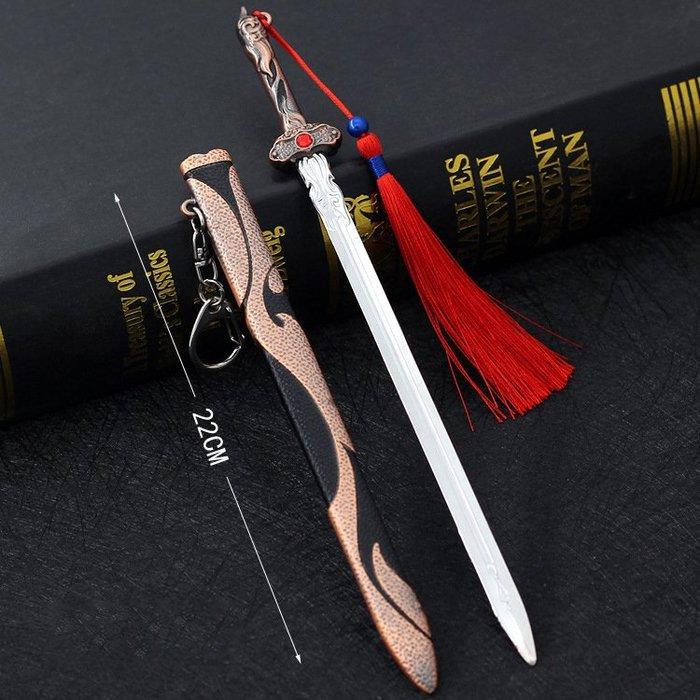 天醒之路 奎英劍 22cm(長劍配大劍架.此款贈送市價100元的大刀劍架)