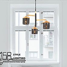 【168 Lighting】橡樹果《木藝吊燈》GD 20246-3
