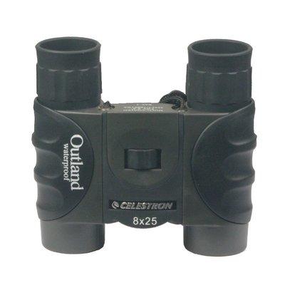 【優上精品】8x25雙筒望遠鏡 高清便攜口袋光學鍍膜充氮防水(Z-P3235)