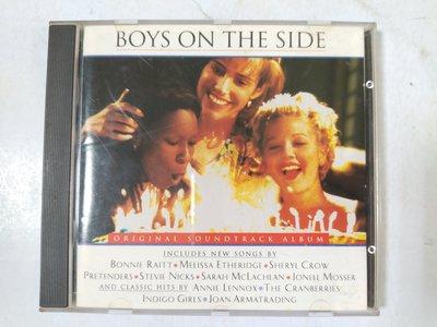 昀嫣音樂(CD17)  BOYS ON THE SIDE 1995年 片況如圖 售出不退 購買請慎重