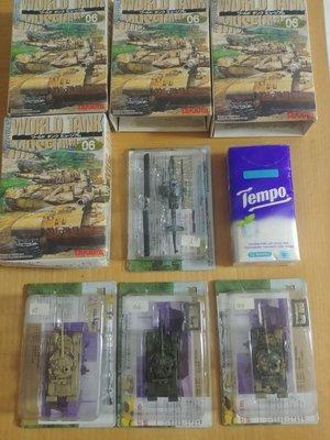 全新 WORLD TANK MUSEUM 06 1:144 蘇軍 T-80 U  美軍 AH-1W(共4盒) (不散賣)