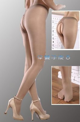 雙子夜【B15】【12D天鵝絨男女適穿開襠褲襪】 ※情侶對穿※不一樣的情趣