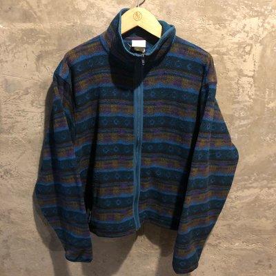 L.L Bean  Fleece smock 圖騰刷毛外套( Patagonia 可參考)