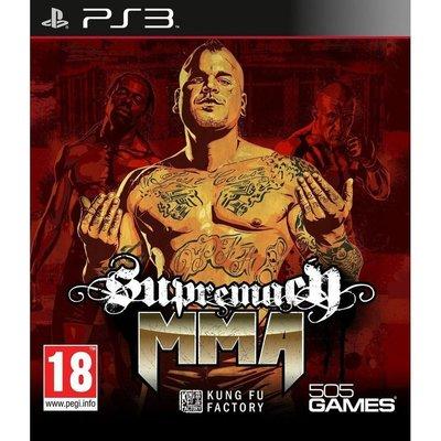全新未拆 PS3 MMA霸主 -英文版- Supremacy MMA