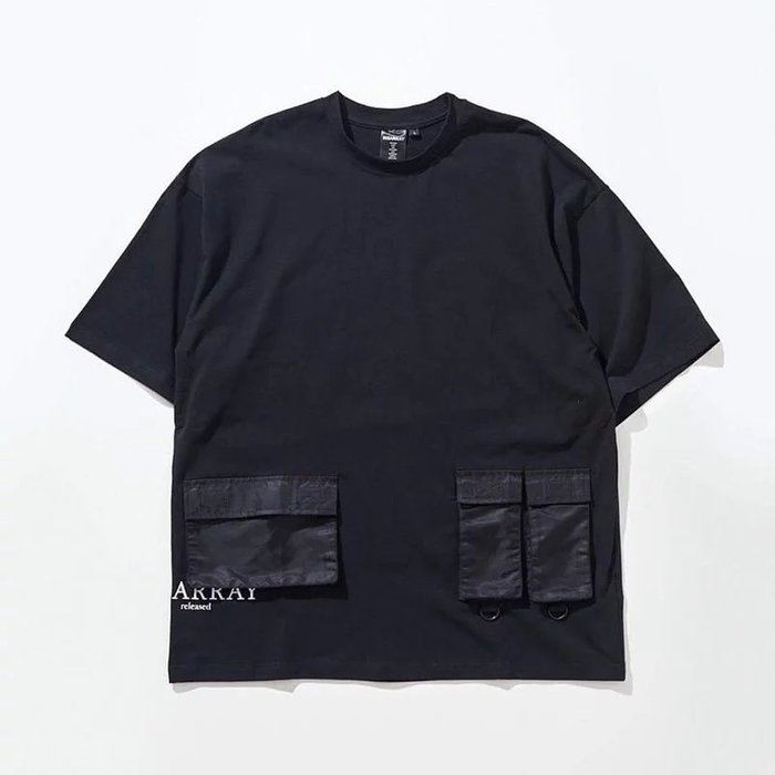 美國東村【DISARRAY】Triple Pocket T-Shirt Crowhurst
