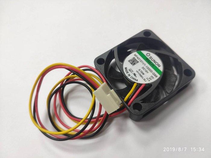 小白的生活工場*SUNON (MF40101V1-1000-G99) 4公分風扇磁浮軸承/7000轉