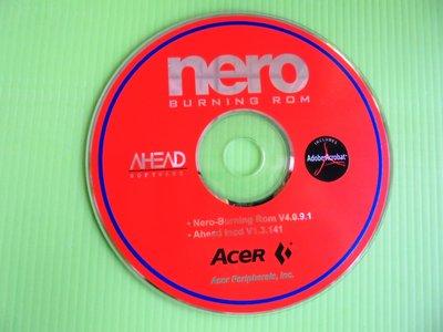 《啄木鳥小舖》<原版軟體~CD>nero 4 燒錄軟體 [隨機搭售版 V4.0.9.1](AceR)