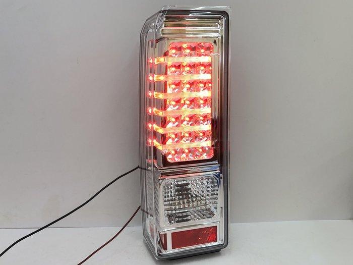 炬霸科技 車燈 Hummer H3 悍馬 LED 尾燈 後燈 改裝 導光 06 07 08 09 10 年 銀底