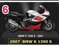 全新7-11 BMW 重機精品 1:24重機模型單賣6號BMW K1300S-2007