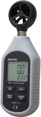 TECPEL 泰菱 》 AVM-713 手持式風速計  風速計 風速 風溫 背光 自動關機