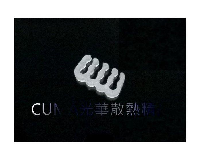 光華CUMA散熱精品*整線材料 PVC 蛇皮網 編織網 理線排 理線梳 8PIN 顯示卡或主機板8PIN用 白色~現貨