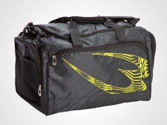 貳拾肆棒球--日本帶回小林亮寬之BODY MAKER運動用個人裝備袋/黑 x 黃