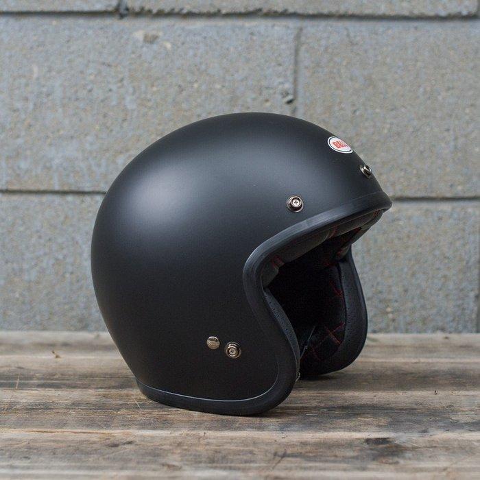 (I LOVE樂多)美國BELL MATTE BLACK 4/3安全帽 全車種風格搭配