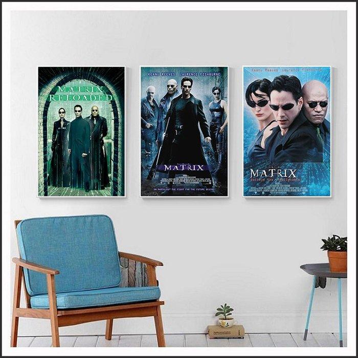 駭客任務 1.2.3 The Matrix 電影海報 藝術微噴 掛畫 嵌框畫 @Movie PoP 賣場多款海報#
