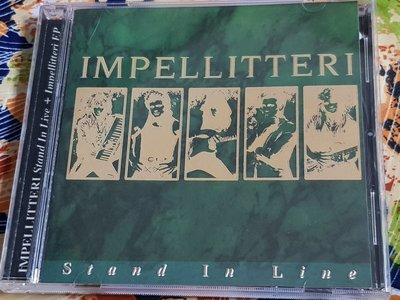 R西洋團(二手CD)IMPELLITTERI~Stand in line