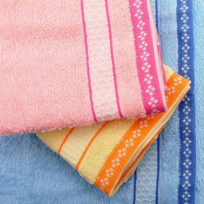 【TELITA】日式和風緞條易擰乾毛巾(超值9條組) 免運