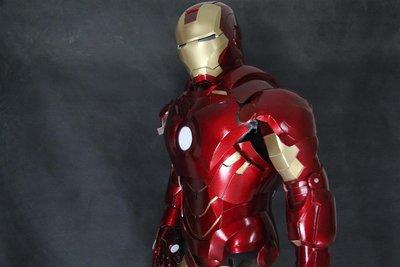 可刷卡分期【IRON MAN鋼鐵人】Mark4 馬克4 全身盔甲| 無限之戰| 薩諾斯|鋼鐵衣 漫威角色 復仇者聯盟 Cosplay 盔甲道具服裝定做