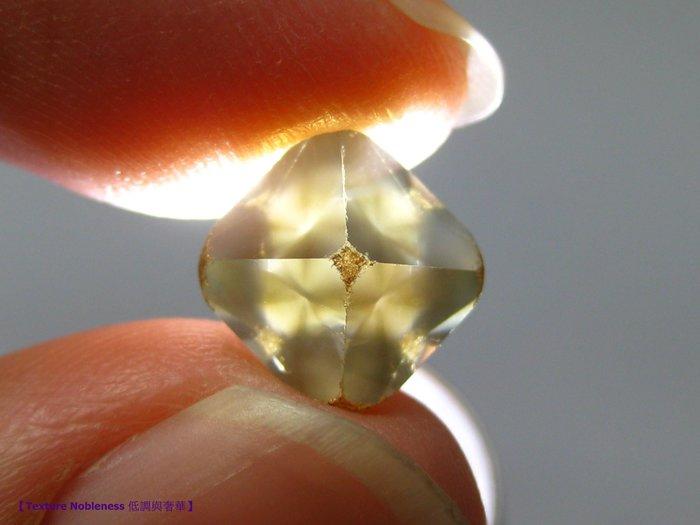(已蒙收藏)波札那共和國 天然無切割 達畢茲 鑽石【Texture Nobleness 低調與奢華】